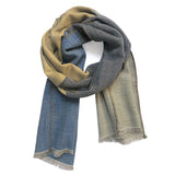 Scarf Wool Vermeer Black Neutral