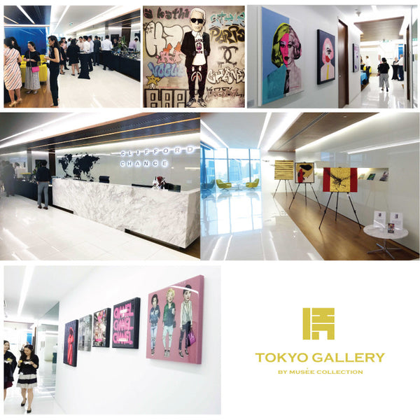 Tokyo Gallery is having a month-long exhibition