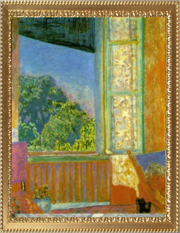 The Open Window - Bonnard Pierre