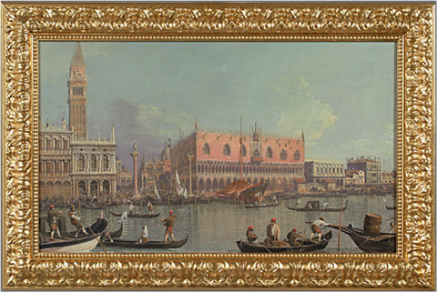 Venice, Ducal Palace and San Marco - Canaletto
