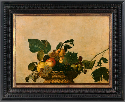 Basket of Fruit - Caravaggio
