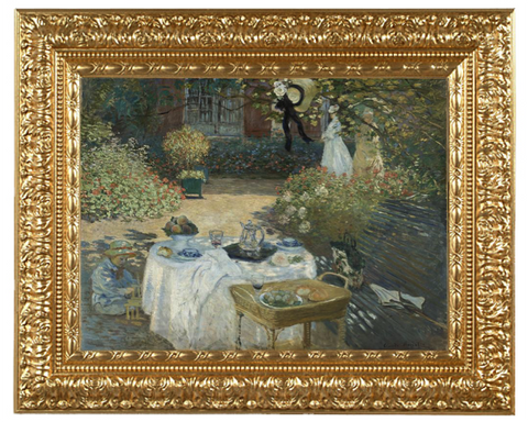 The Lunch - Claude Monet