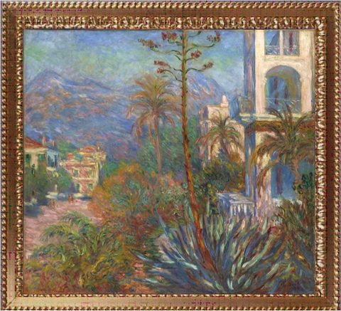 Villas at Bordighera - Claude Monet