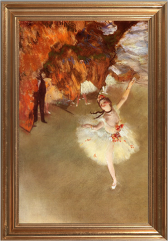 The Star [Dancer on Stage] - Edgar Degas
