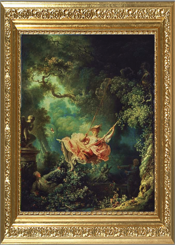 The Swing - Fragonard Jean-Honoré