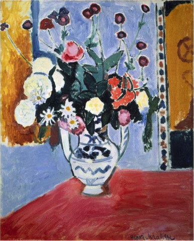 Bouquet (Vase with Two Handles) – Henri Matisse