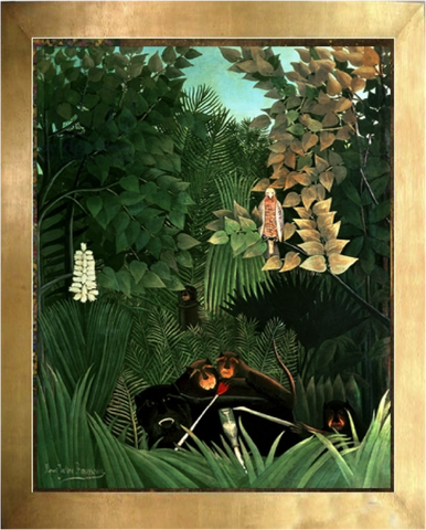 The Merry Jesters– Henri Rousseau