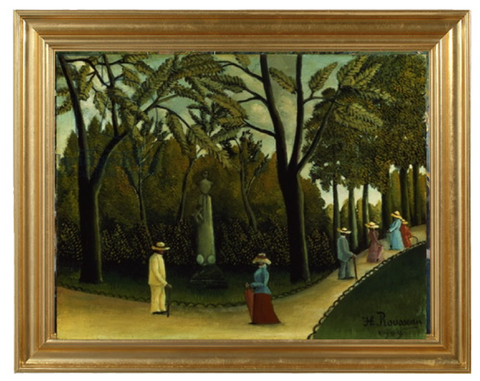 The Monument to Chopin in the Luxembourg Gardens – Henri Rousseau