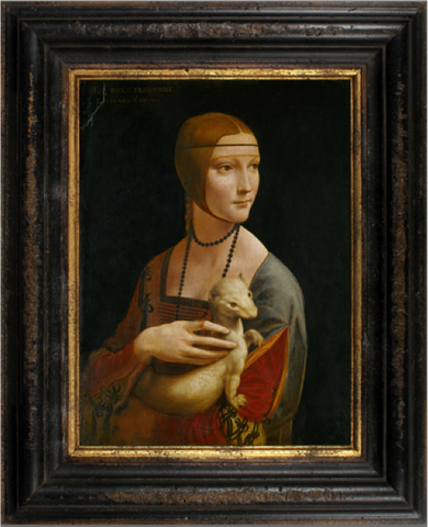 Woman with an Ermine – Leonardo DaVinci