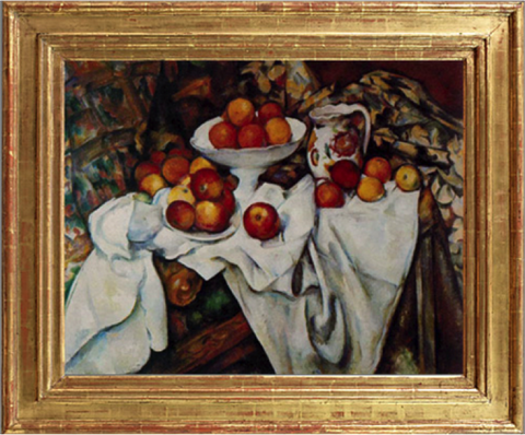 Apples and Oranges – Paul Cezanne