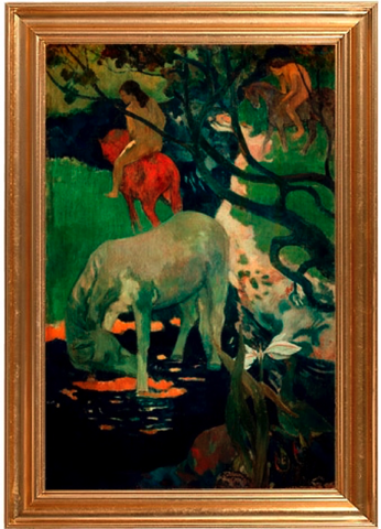 The White Horse – Paul Gauguin