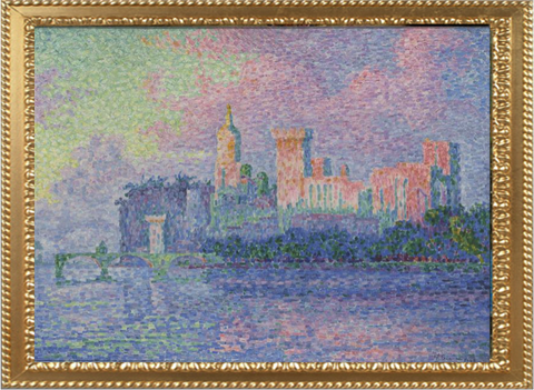 The Papal Palace in Avignon – Paul Signac