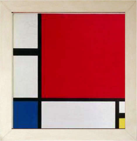 Composition II in Red, Blue and Yellow – Piet Mondrian