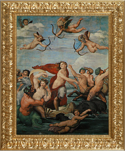 Triumph of Galatea – Raffaello
