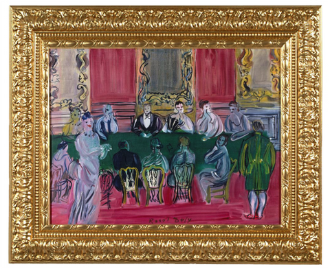 The Party in Baccara – Raoul Dufy