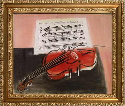 The Red Violin – Raoul Dufy