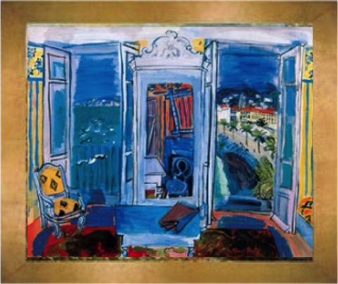 Window Opening on Nice – Raoul Dufy