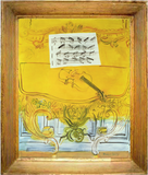 The Yellow Console with a Violin – Raoul Dufy