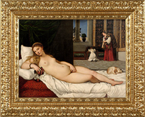 The Venus of Urbino – Tiziano
