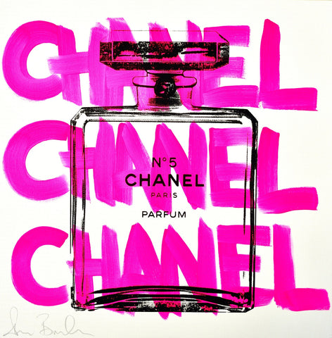 Chanel Chanel Chanel - White