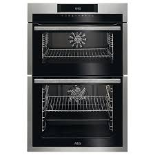 AEG DCE731110M Built-In Double Electric Oven - Stainless Steel