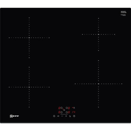 Neff T36FB41X0G 60cm Induction Hob fitted with 13 amp plug