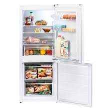 Lec TFL55148W 55cm Wide Low Frost Fridge Freezer