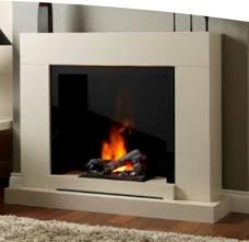 Katell Verona Optimyst Electric Fireplace - Smooth White
