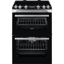 Zanussi ZCI66278XA 60cm Freestanding Electric Cooker with Induction Hob