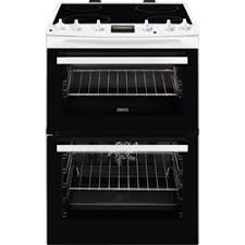Zanussi ZCV66078WA 60cm Wide Freestanding Electric Cooker