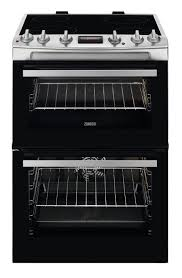 Zanussi ZCV66370XA  60cm Wide Freestanding Electric Cooker