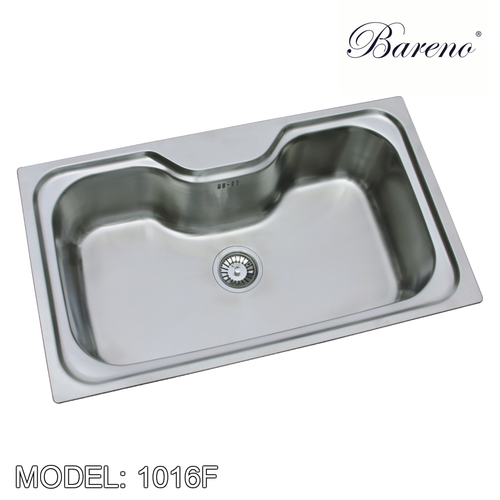 BARENO Kitchen Sink 1016F, Kitchen Sinks, BARENO - Topware Solutions
