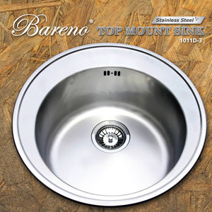 BARENO Kitchen Sink 1011D-3, Kitchen Sinks, BARENO - Topware Solutions