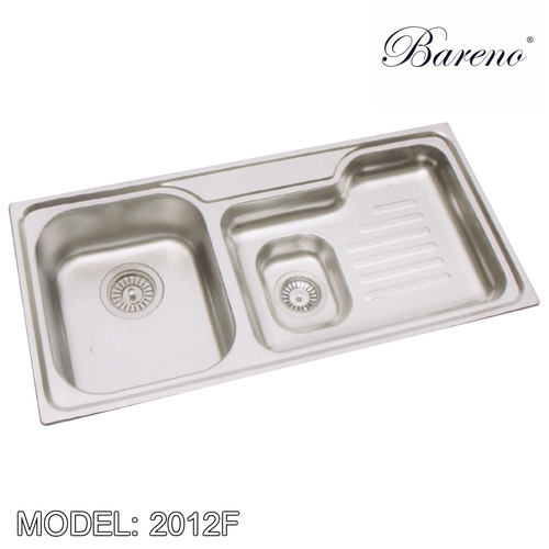BARENO Kitchen Sink 2102F, Kitchen Sinks, BARENO - Topware Solutions