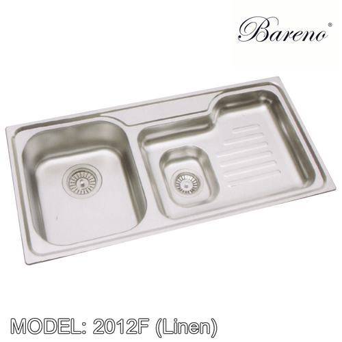 BARENO Kitchen Sink W2102F(Linen), Kitchen Sinks, BARENO - Topware Solutions