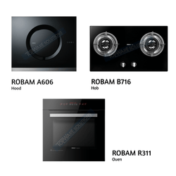 ROBAM Hood A606 + ROBAM Hob B716 + ROBAM Oven R311 Kitchen Hoods/Hobs/Oven ROBAM - Topware Solutions