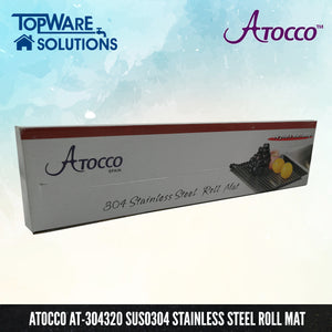 ATOCCO AT-304320 SUS304 Stainless Steel Roll Mat, Kitchen Sinks, ATOCCO - Topware Solutions