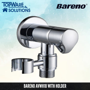BARENO PLUS Angle Valve AVWH18, Bathroom Faucets, BARENO PLUS - Topware Solutions