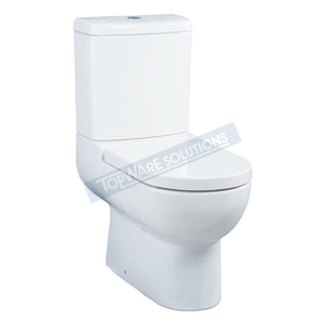 JOHNSON SUISSE Ancona Two Piece WBSEAC111WW, Bathroom W.Cs, JOHNSON SUISSE - Topware Solutions