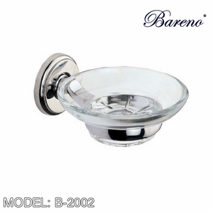 BARENO PLUS Soap Dish B-2002, Bathroom Accessories, BARENO PLUS - Topware Solutions