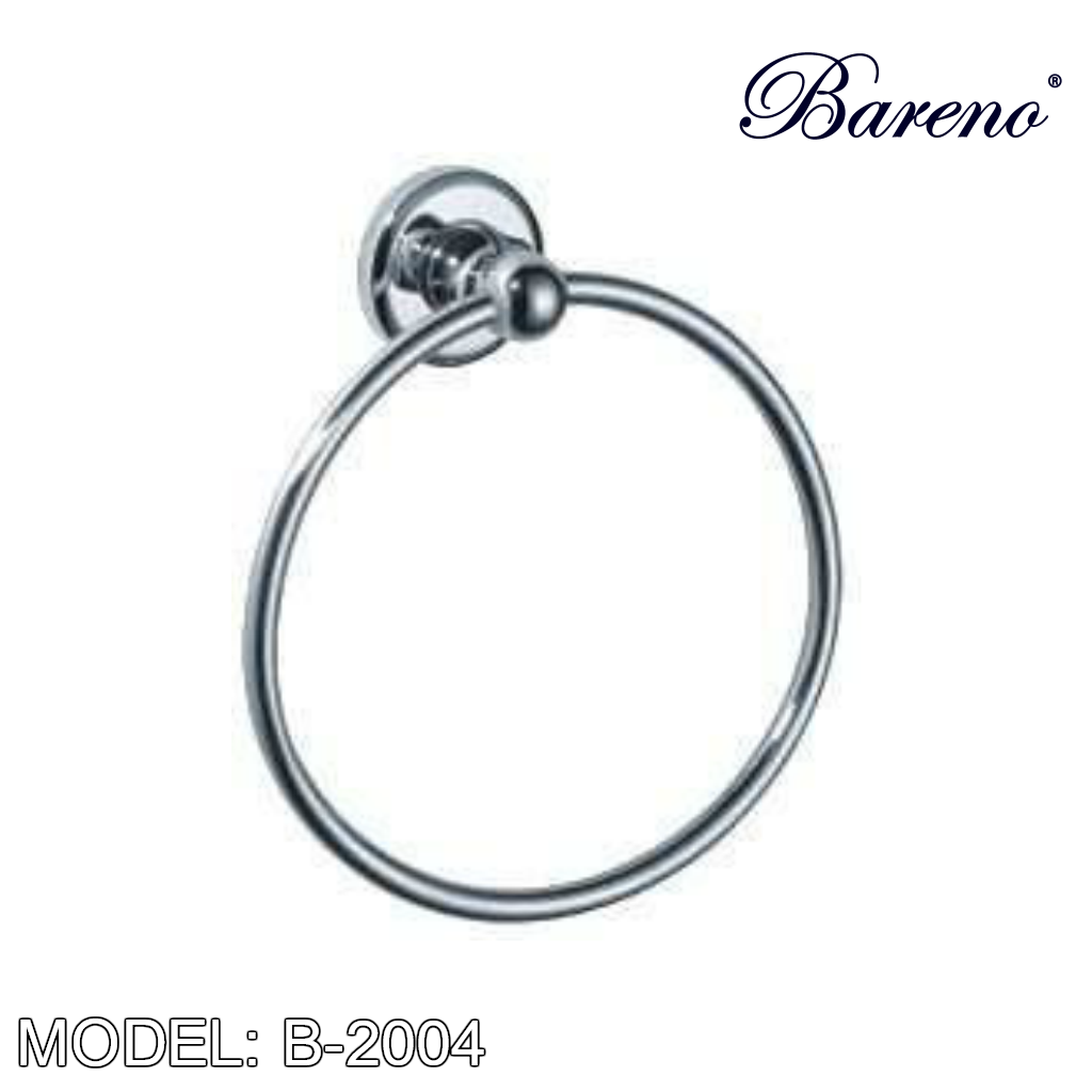 BARENO PLUS Towel Ring B-2004, Bathroom Accessories, BARENO PLUS - Topware Solutions