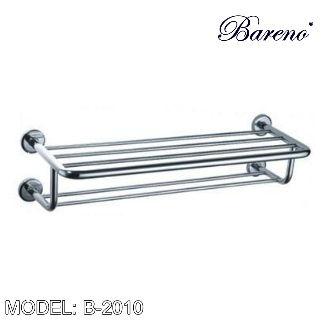 BARENO PLUS Towel Bar B-2010 Bathroom Accessories BARENO PLUS - Topware Solutions