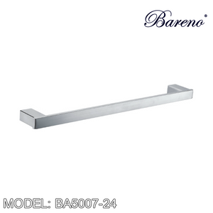 BARENO PLUS Towel Bar BA5007-24, Bathroom Accessories, BARENO PLUS - Topware Solutions