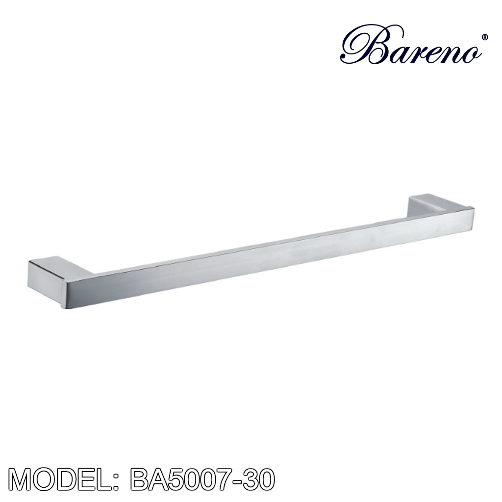BARENO PLUS Towel Bar BA5007-30, Bathroom Accessories, BARENO PLUS - Topware Solutions