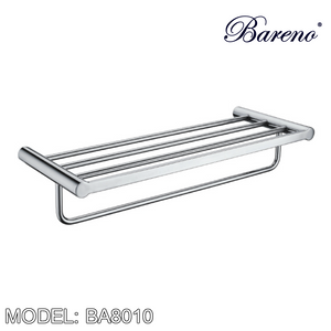 BARENO PLUS Towel Bar BA8010, Bathroom Accessories, BARENO PLUS - Topware Solutions