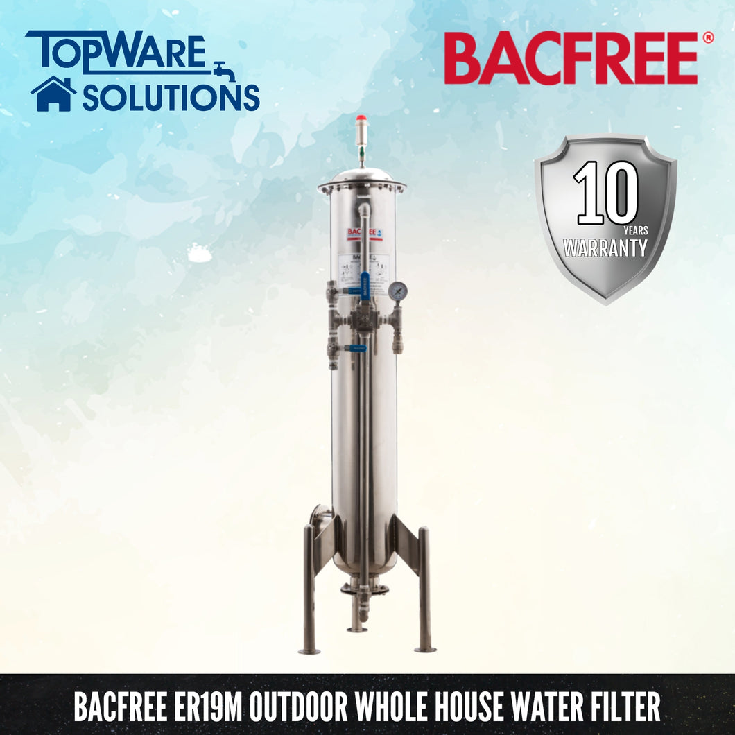 BACFREE ER Series ER19M (Matte) Whole House Outdoor Filter, Water Filters, BACFREE - Topware Solutions