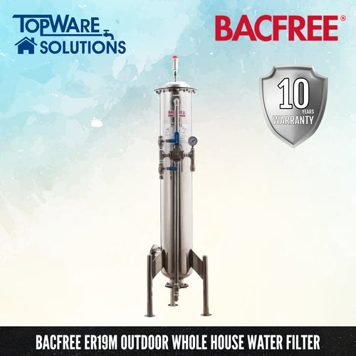 BACFREE ER Series ER19MP (Polish) Whole House Outdoor Filter, Water Filters, BACFREE - Topware Solutions