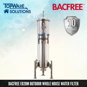 BACFREE ER Series ER28S (Polish Finishing) Whole House Outdoor Filter, Water Filters, BACFREE - Topware Solutions
