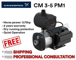 GRUNDFOS Water Pump CM3-5PM1 Made in Denmark 2 Year Warranty, Water Pumps, GRUNDFOS - Topware Solutions