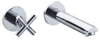 BARENO PLUS Wall Basin Tap CWBT101D-02-HR7, Bathroom Faucets, BARENO PLUS - Topware Solutions